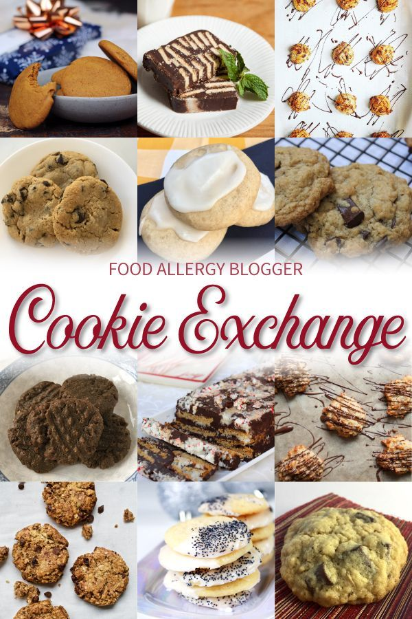 An allergy friendly cookie exchange featuring some of your favorite an allergy friendly cookie exchange featuring some of your favorite food allergy bloggers and their recipes forumfinder Gallery