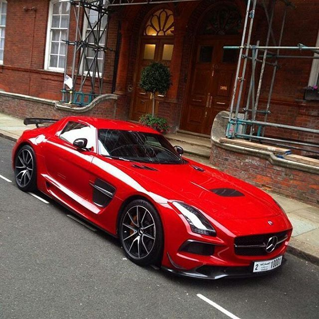 Mercedes Benz G Series: Mercedes SLS AMG Black Series
