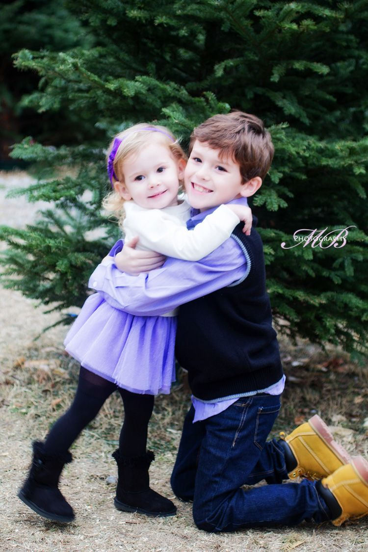Sibling Photo. Best big brother ) winter