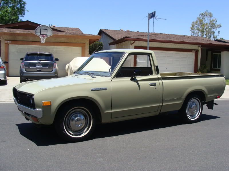 1974 datsun 620 pickup mine was a 1969 looked very much like this one though i built a wooden. Black Bedroom Furniture Sets. Home Design Ideas
