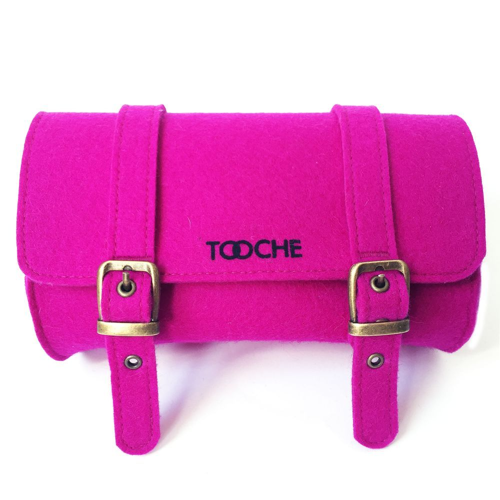 Tooche Bright Pink Bicycle Saddle