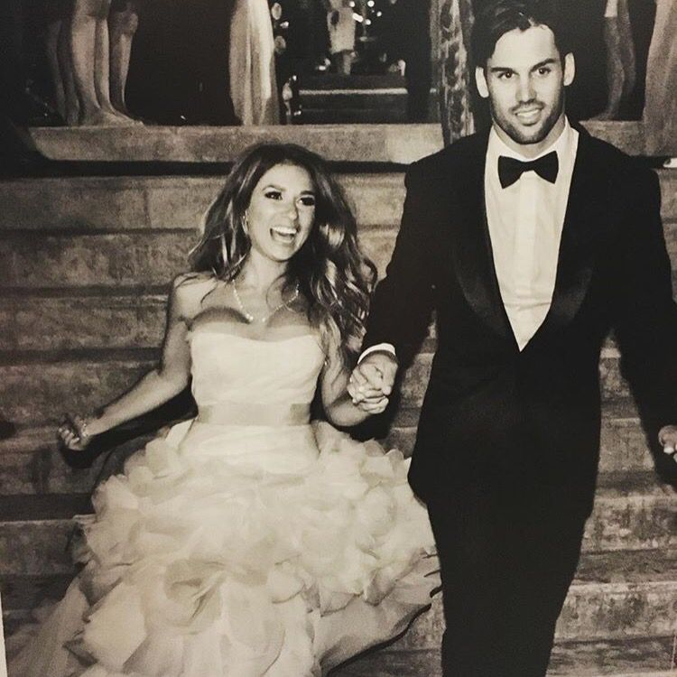 """I do"" Jessie and Eric decker 