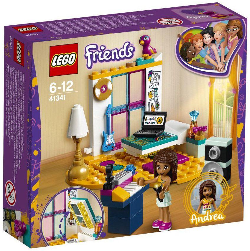 Lego Friends 41341 La Chambre Dandréa Ccs Lego Ideas Lego
