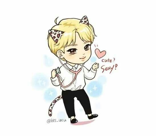 Pin By Diya Jeon On Cartoon Jimin Fanart Fan Art Bts Drawings