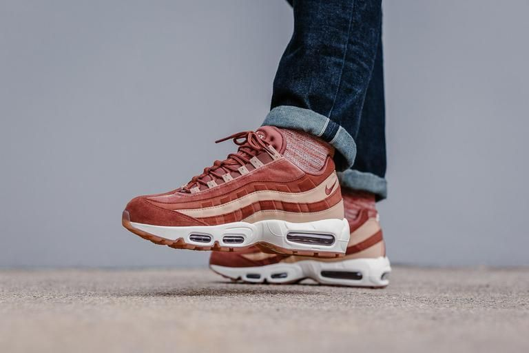 f0642ba2b6 NIKE AIR MAX 95 LX W - DUSTY PEACH & BIO BEIGE AA1103-201 TRAINERS IN ALL  SIZES