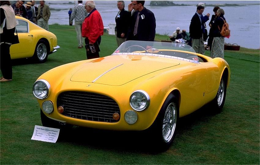 Ferrari 340 america vignale spyder a mechanical symphony cars aloadofball Image collections