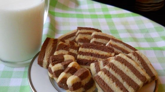 Checkerboard Cookies Ii Resep