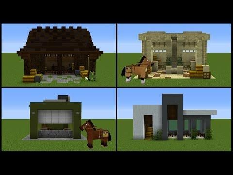 Minecraft 8 Horse Stable Designs Minecraft Stables Minecraft Horse Minecraft Horse Stables In today's minecraft 1.14 tutorial i'm going to show you how to build a horse stable in minecraft! minecraft 8 horse stable designs
