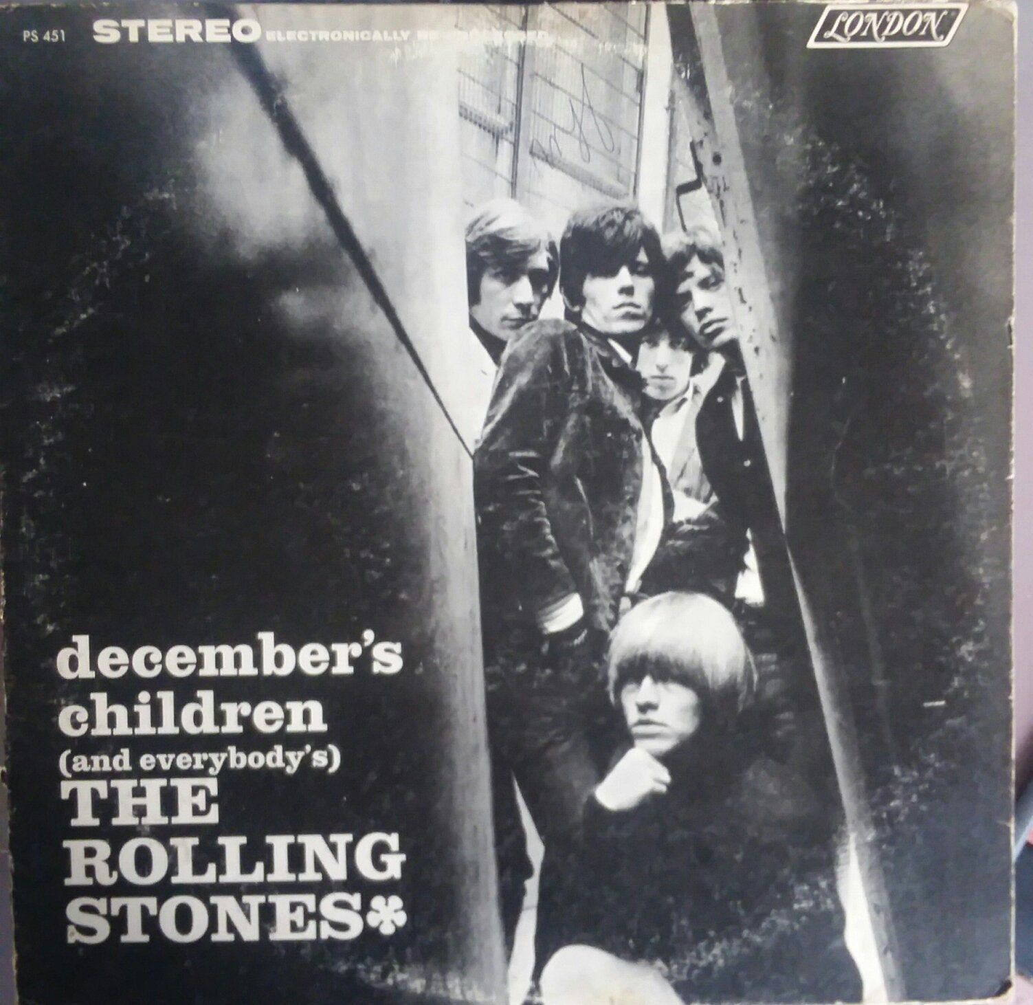 The Rolling Stones, December's Children, Vintage Record