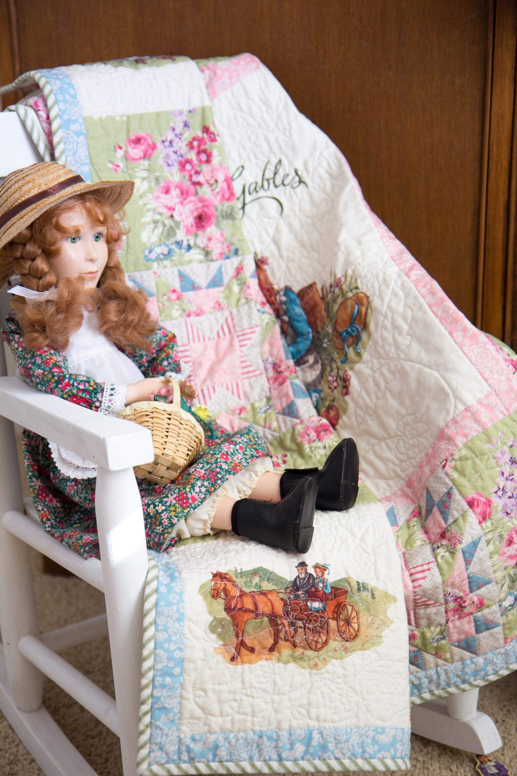 Anne Of Green Gables Green One Yard Pack <Br>Penny Rose