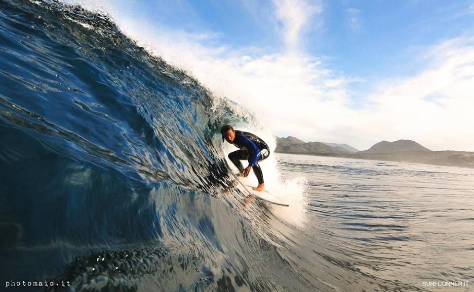 surfing #Italy #Sardegna surfer Lorenzo Castagna