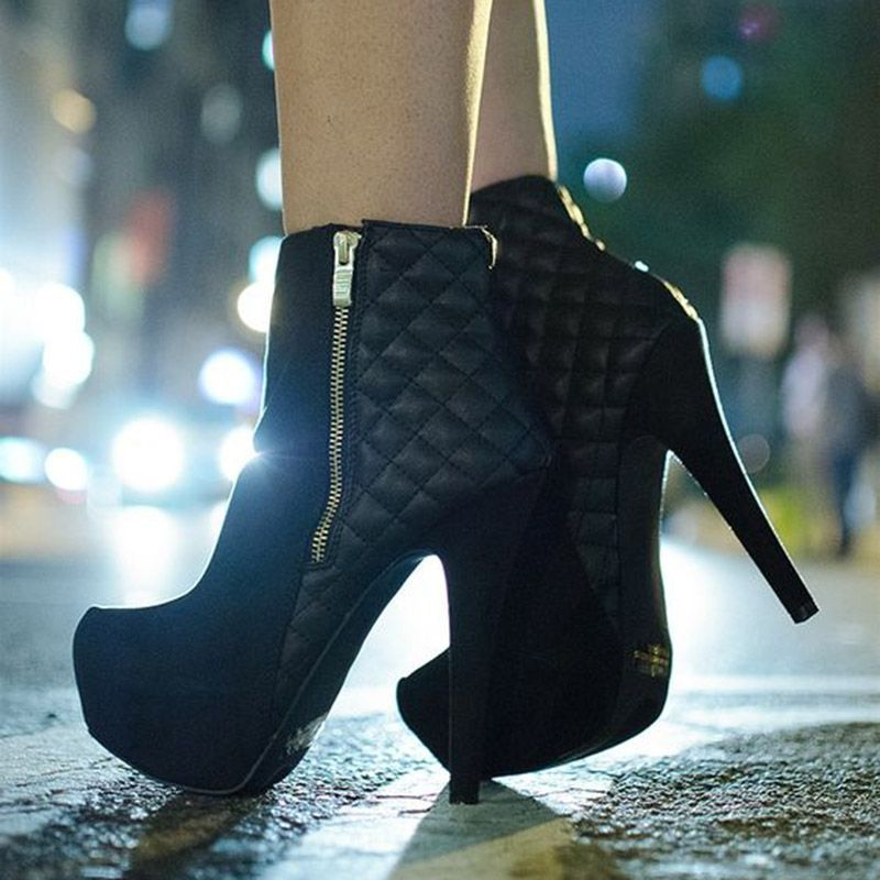 Stiletto heels, Boots, Heeled ankle boots