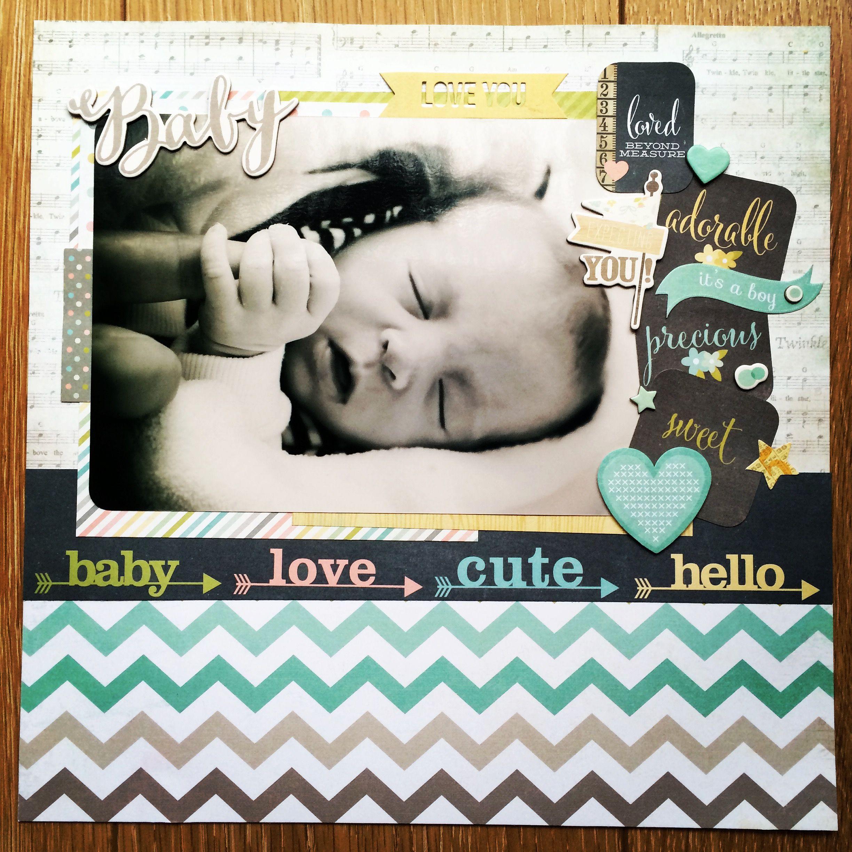 Scrapbook ideas words - Baby Scrapbook Com