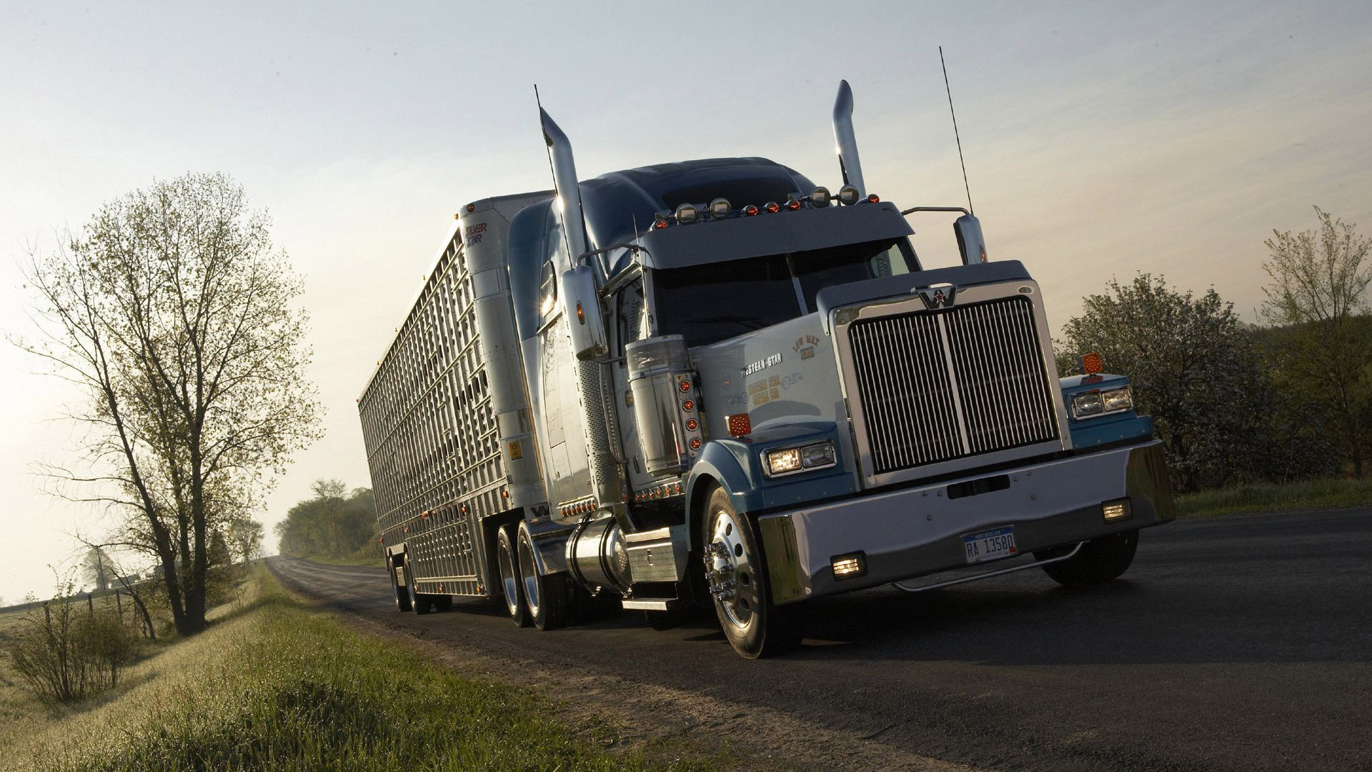 Western Star Heavy Duty Trucks 1080p Hd Wallpaper Widescreen