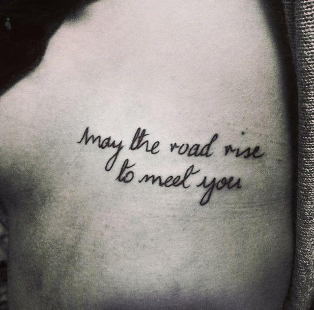 Tattoo Needle Quotes: My Irish Blessing Tattoo