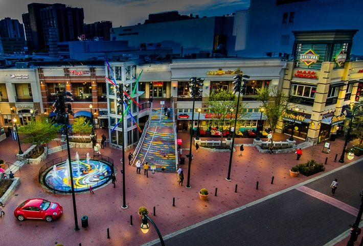 Downtown Silver Springs Silver Spring Maryland Places I