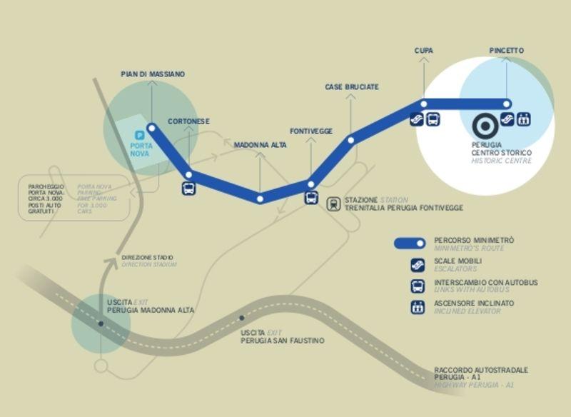 U Bahn Von Perugia Metro Map Subway Map Map