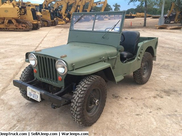 1948 Cj2a Willys Jeep Sold Willys Jeep Willys Jeep Parts For Sale