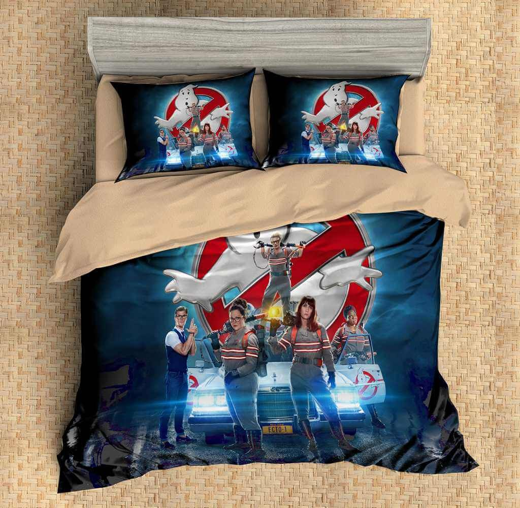 Ghostbusters Bettwäsche 3d Customize Ghostbusters Bedding Set Duvet Cover Set Bedroom Set