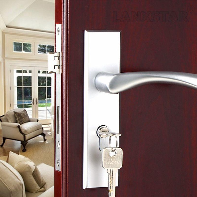 Factory Interior Door Lock Living Room Space Aluminum Mechanical