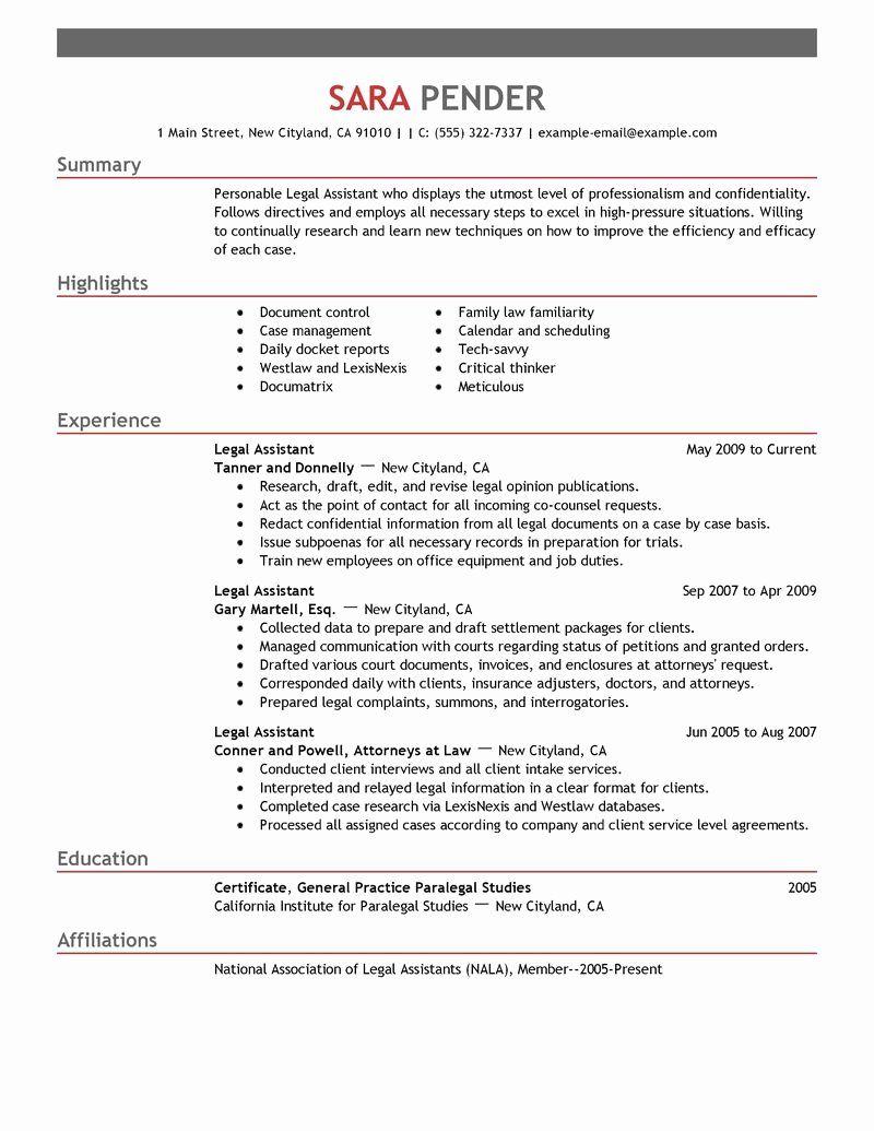 Paralegal Job Description Resume Unique Best Legal Assistant Resume Example Resume Examples Teaching Assistant Job Description Resume Design Template