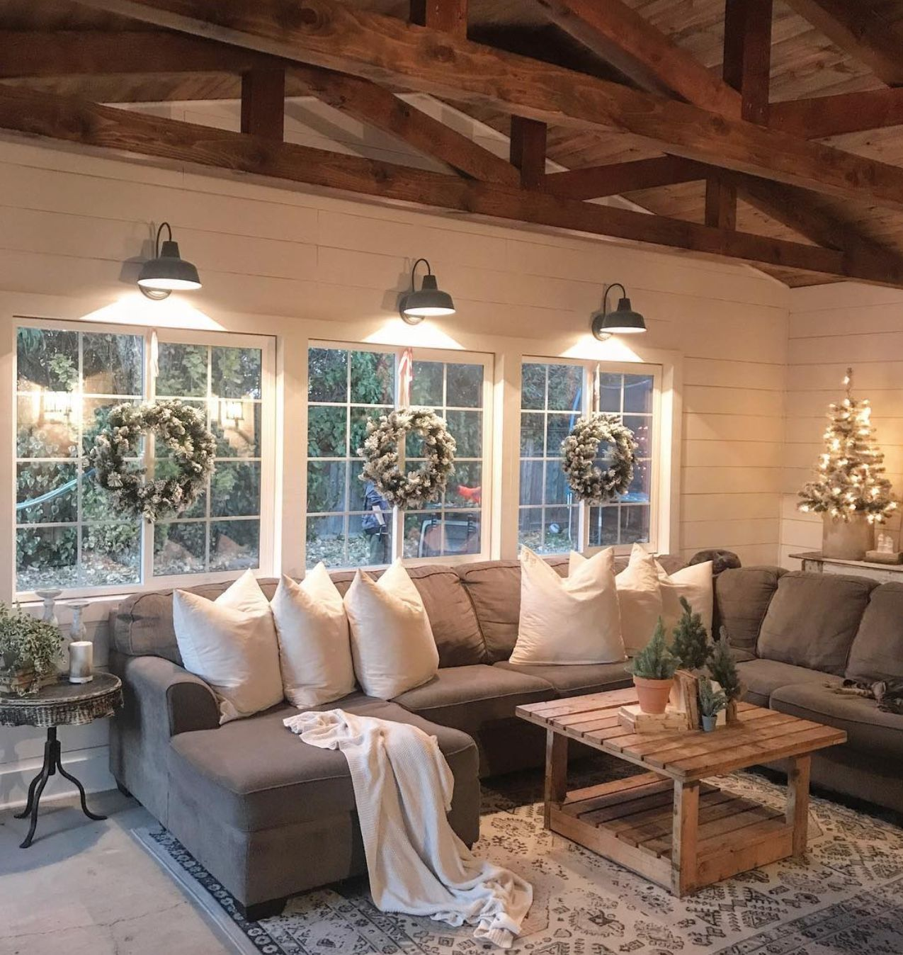 I Love This Simple Elegant Rustic Love The Down Lights