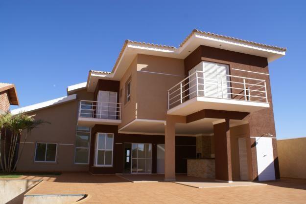 Resultado de imagem para casa marrom cores casa pinterest for Casas modernas pintadas