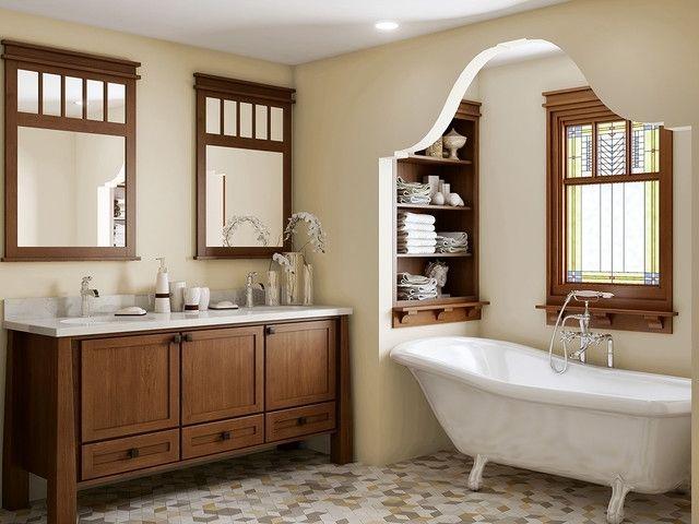 craftsman bathroom cabinets bathrooms pinterest craftsman rh pinterest com 12 Craftsman Bathroom Cabinets Craftsman Bathroom Lighting