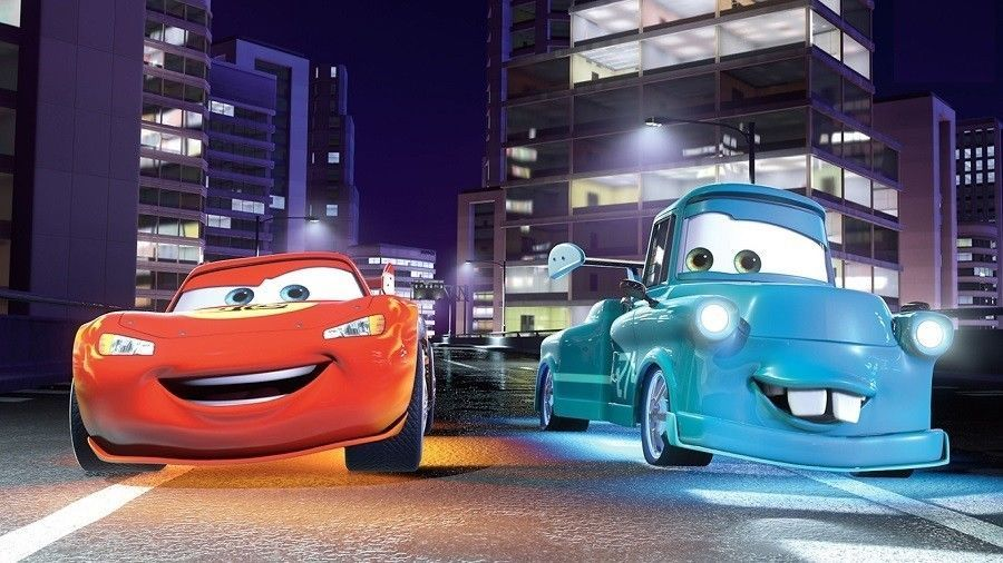 13x19 inch Poster Disney Cars Lightning and Mater Home Decor PERSONALIZE FREE