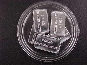5 1 Gram 999 Fine Silver Bars Uscg See