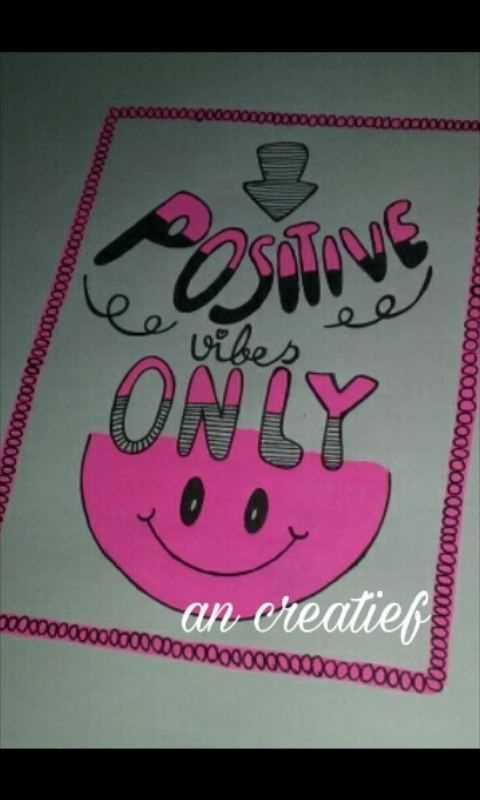 ik ben weer lekker bezig lekker positief   groetjes An Creatief
