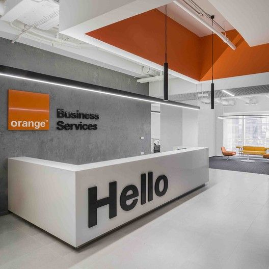 gallery of orange business services office    t t
