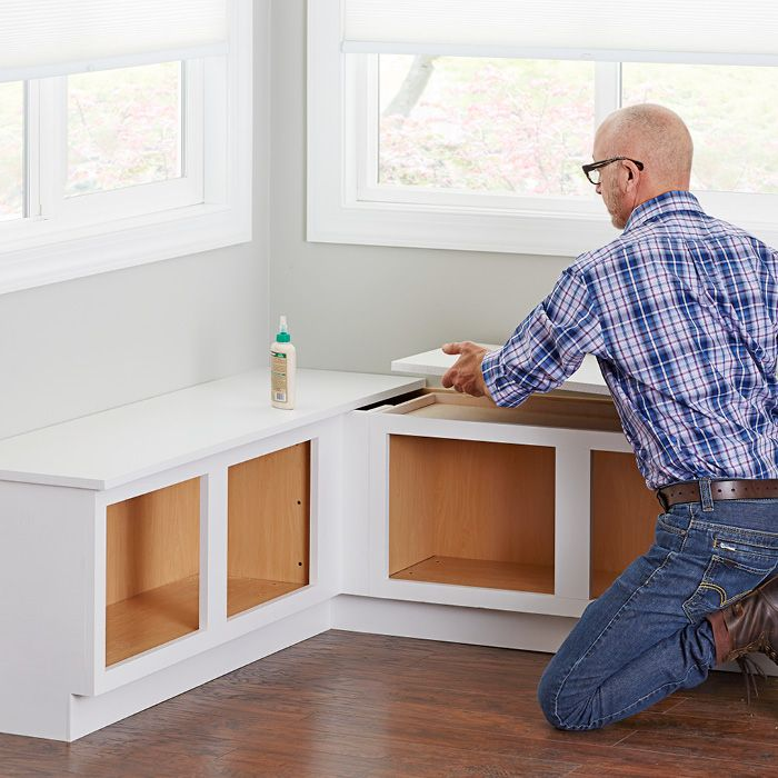 Corner Window Bench From Lowe's
