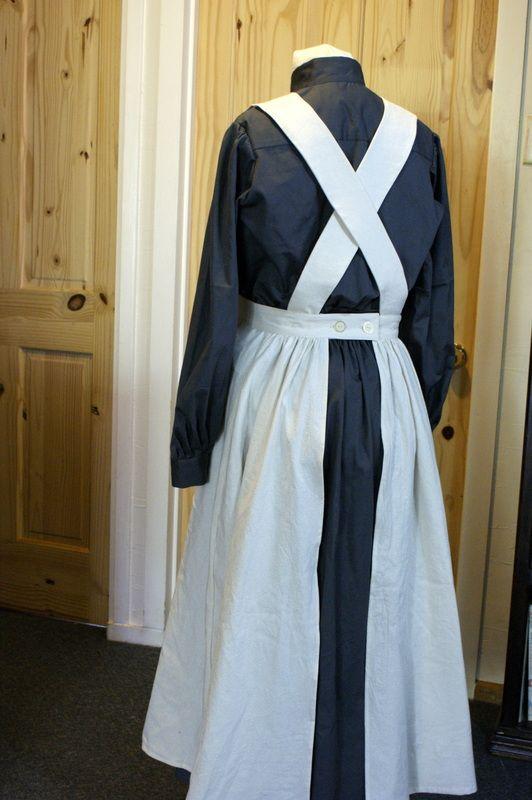 Authentic WW1 Nurse Uniform Apron Horrockses