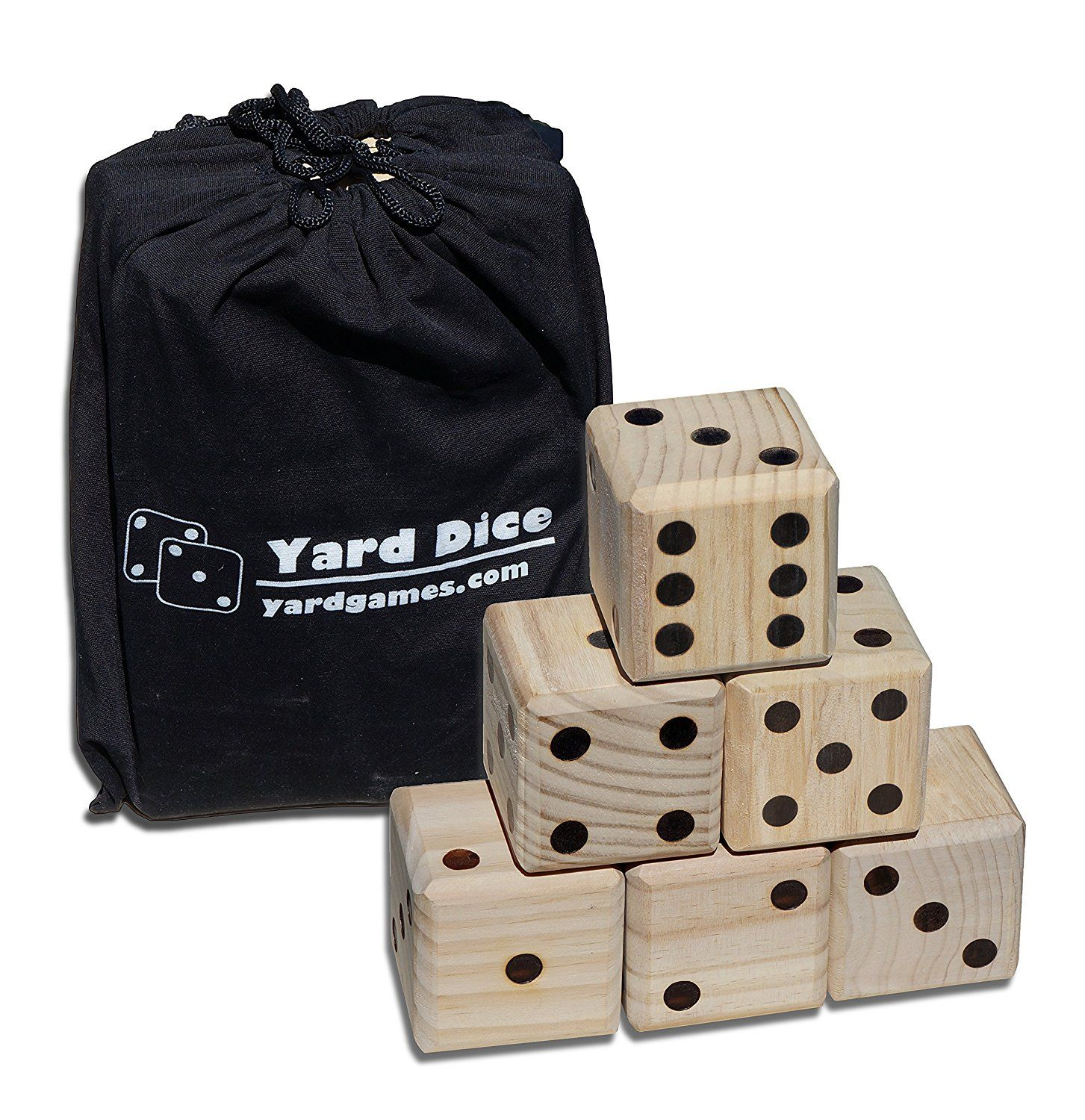 Giant wooden yard dice by yard games toys