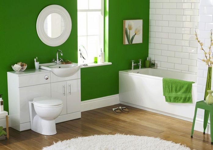 Guest Bathroom Decor Ideas With Bright Color Decolover