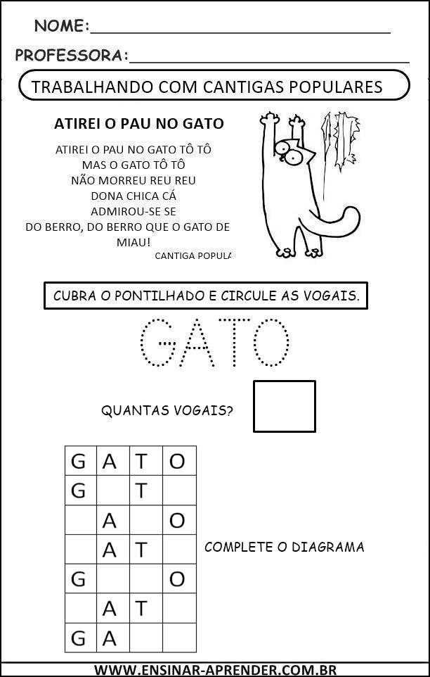 Pin Em Gato