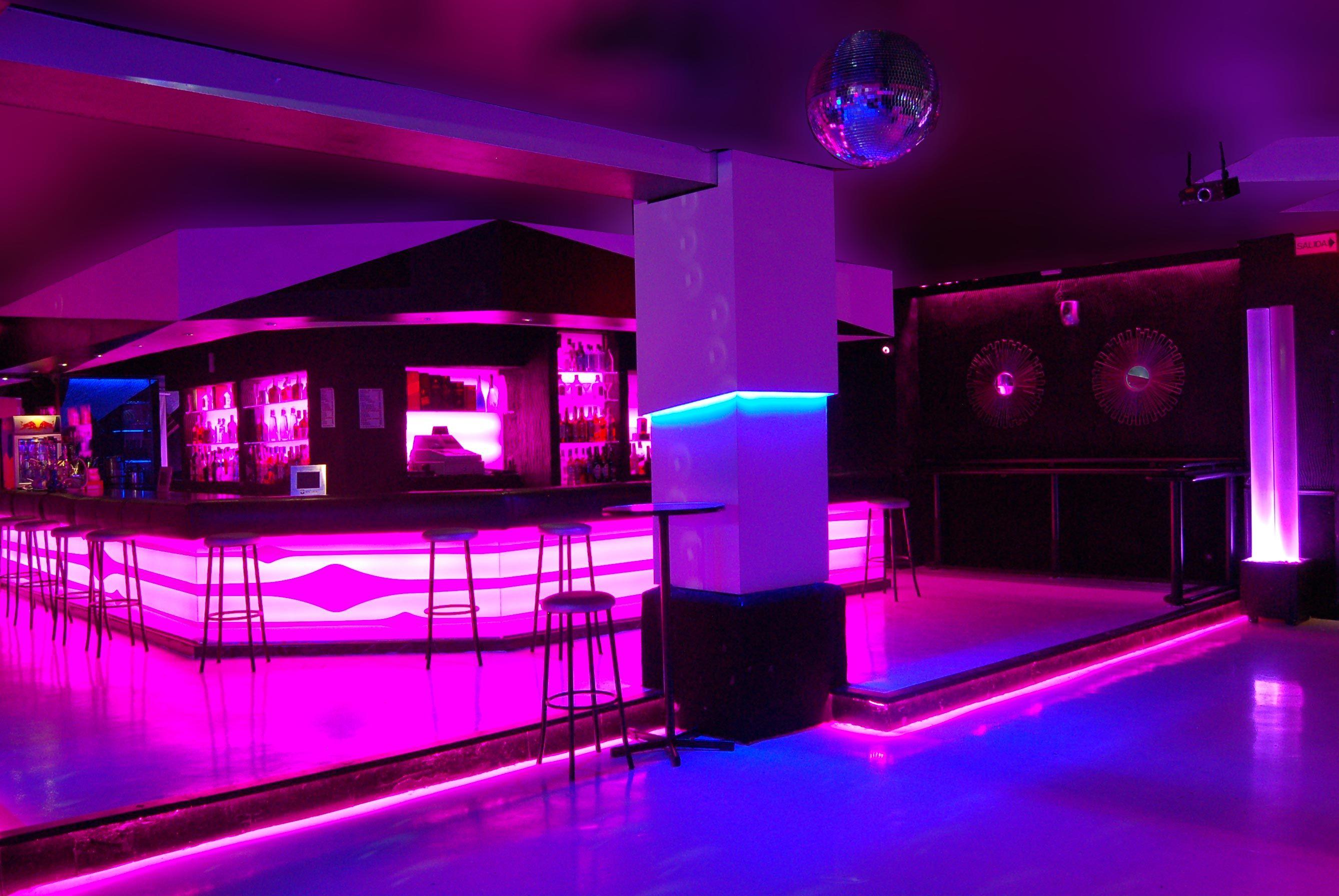 Night club interior design silvan francisco discoteca ozona vip in ilminacion - Discoteca ozona madrid ...