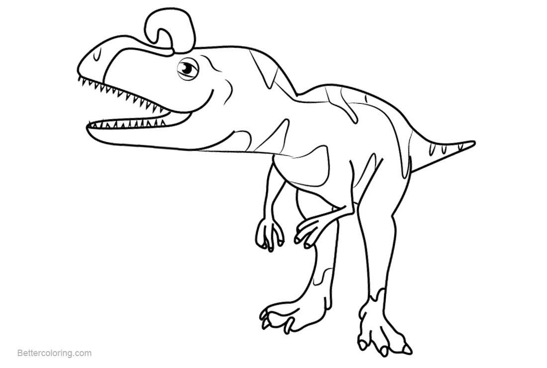 38 Printable Coloring Pages Dinosaur Train Train Coloring Pages Dinosaur Images Dinosaur Train