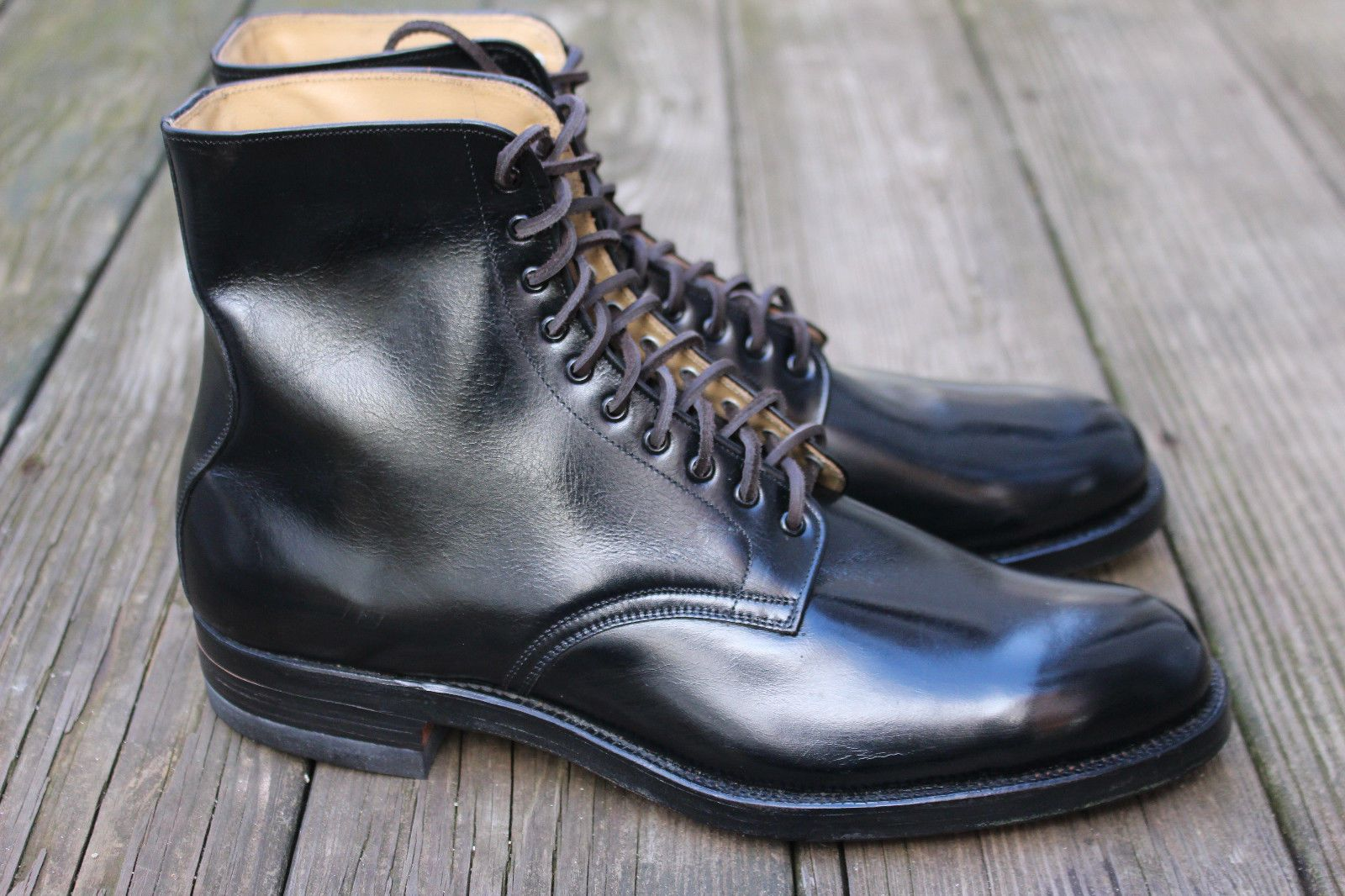 Vintage Mens 1950s Dress Boots 10 Wingfoot Goodyear Shoes USA Deadstock Military in Clothing, Shoes & Accessories, Men's Shoes, Boots | eBay