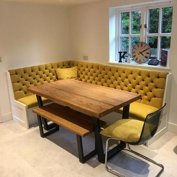 Bespoke Banquette Seating - Deep Buttoned - Undercover Storage
