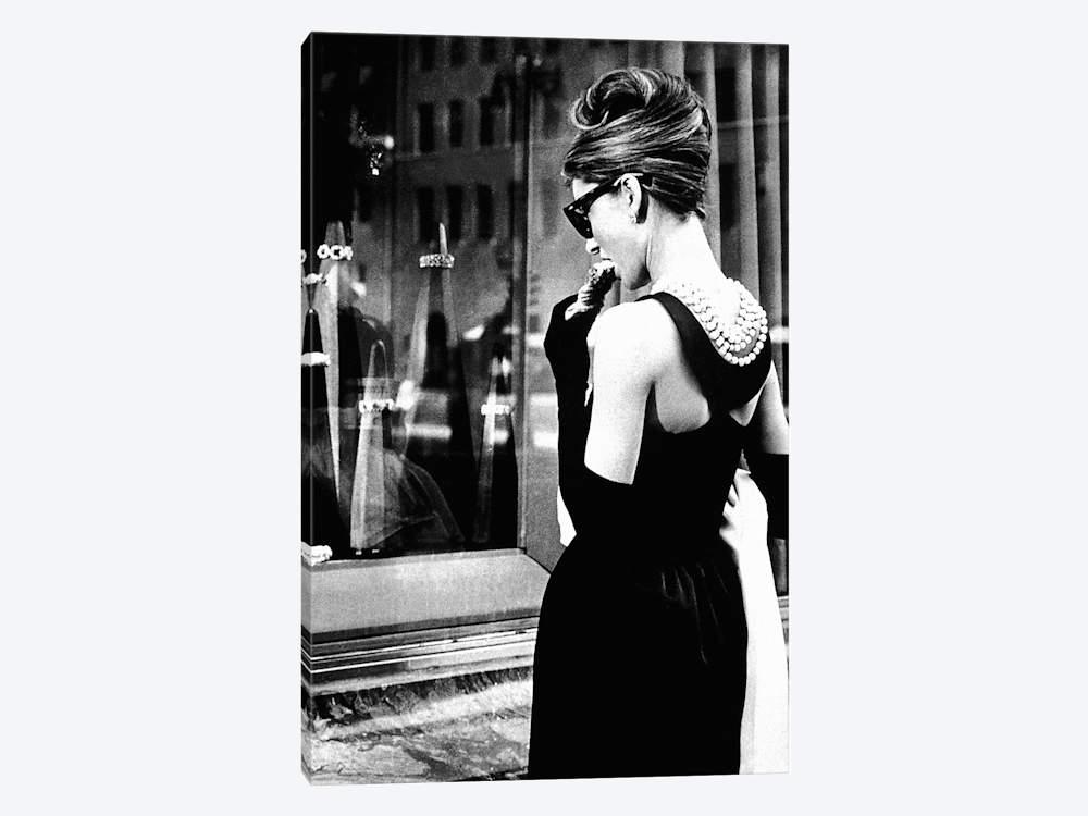 26+ Audrey Hepburn Window Shopping I Art Print by Radio Days   iCanvas