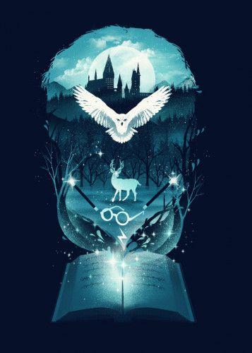 'Book of Fantasy' Poster Print by Dan Fajardo | Displate