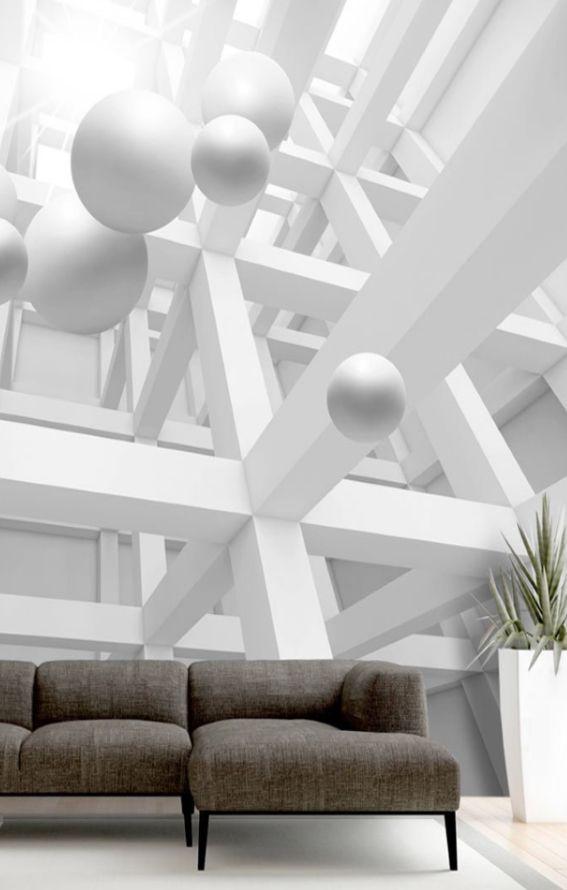Großartig Murando Fototapete 400x280 Cm Vlies Tapete Moderne Wanddeko Design Tapete  Wandtapete Wand Dekoration Abstrakt 3D Optik