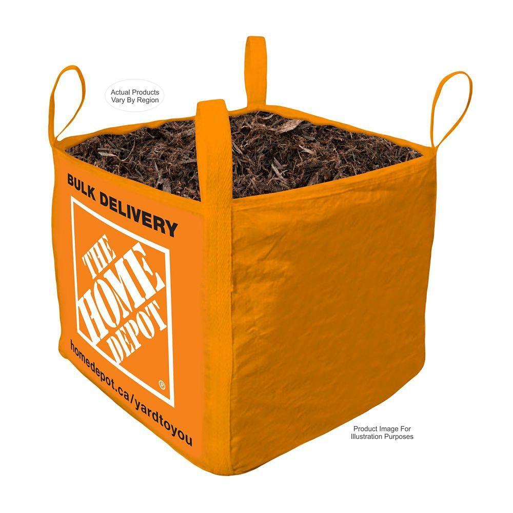 Black Mulch Bulk Delivered Bag 1 Cubic Yard Mulch Mulch