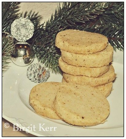 "Heidesand Cookies (German ""Sand"" Cookies) 