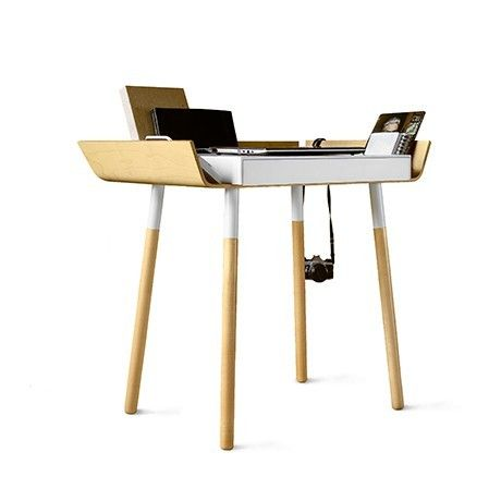 EMKO My Writing Desk - Single Drawer White | Available from Beut.co.uk