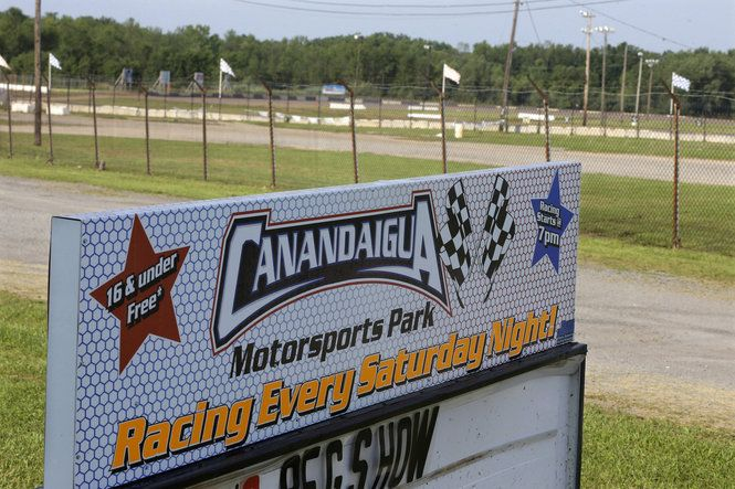 Scary Crash At Canandaigua Ends Career Of Veteran Racer Charlie