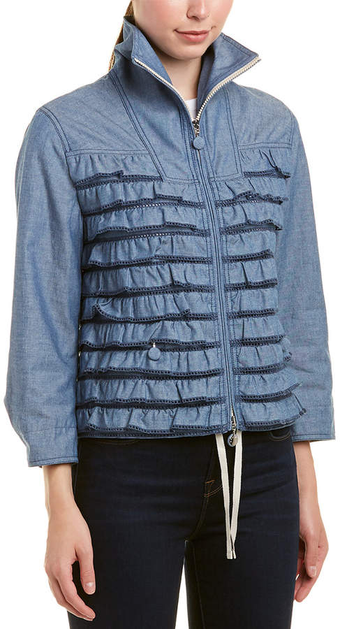 3f4c26938 Moncler Frill Zipped Jacket