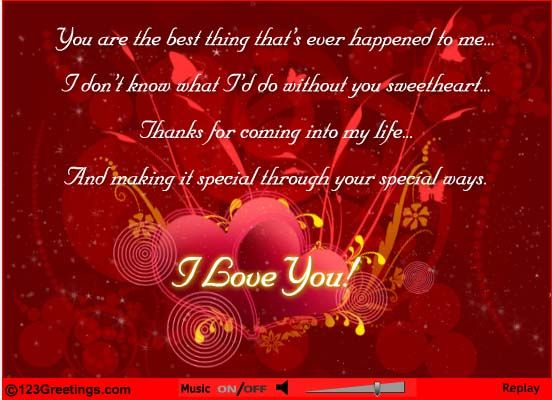 Thank You For Your Love Cards Free Thank You For Your Love Ecards 123 Greeti Birthday Wishes For Girlfriend Birthday Wishes For Boyfriend Happy Sweetest Day
